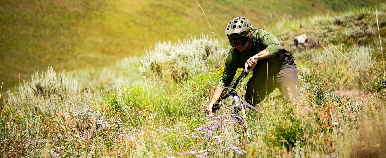 Brice Shirbach riding in Gunnison Valley, Colardo