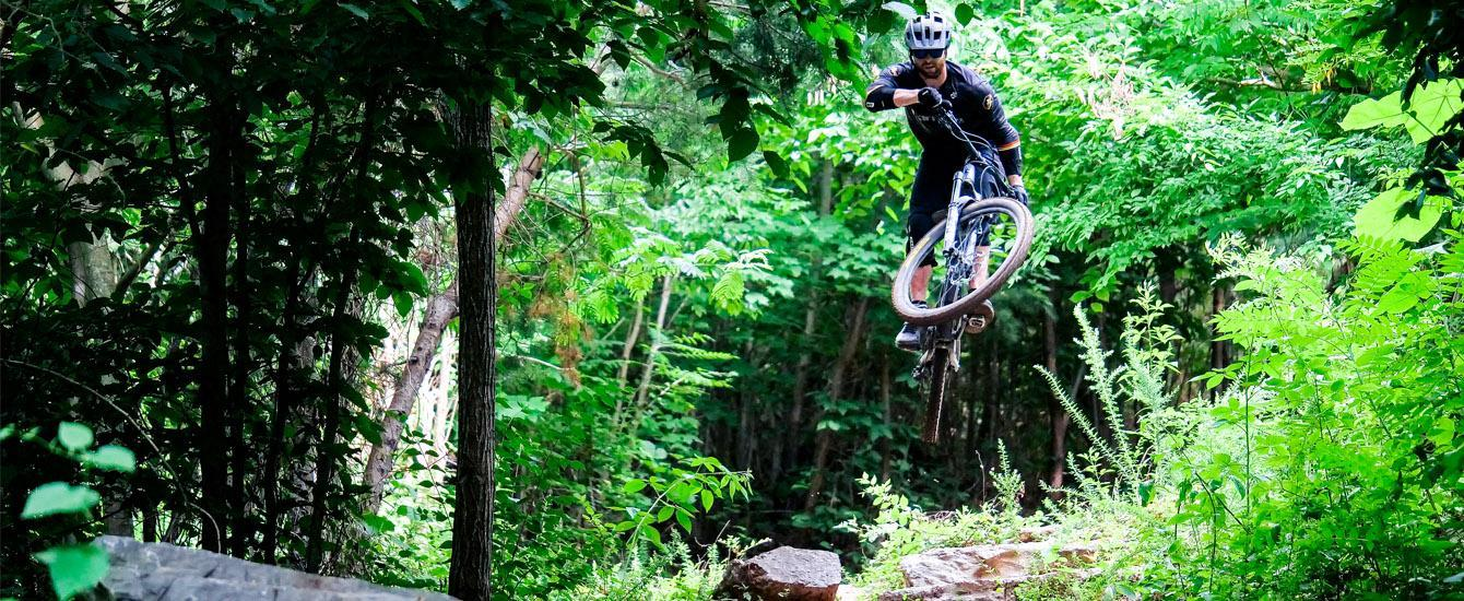 Kody airing out a big jump in Knoxville, Tennessee