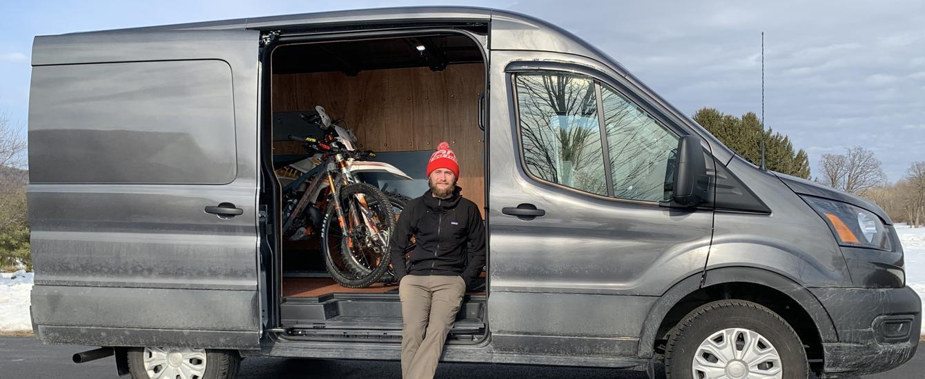 Employee Check | Marketing Coordinator Gunnar Bergey's Van Build