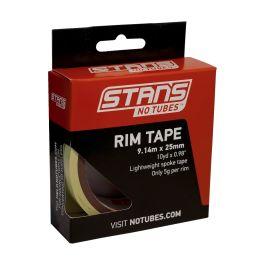 Yellow Tubeless Rim Tape 66m x 25mm Joes No Flats