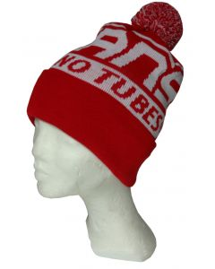 Red and White Winter Beanie
