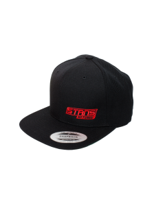 HAT, PERFORMANCE SNAPBACK, BLACK/RED