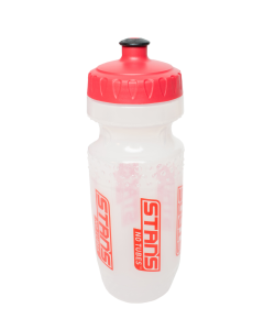 WATER, BOTTLE, CLEAR/RED, 20 OZ SILO