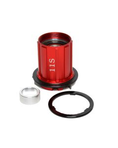 FREEHUB, STANS, 3.30R, SHIMANO 11-SPEED, RED
