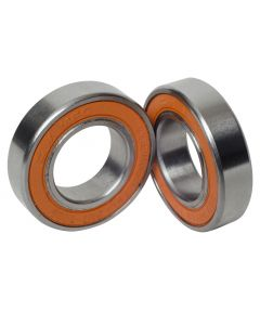 KIT, BEARING, #6902,15X28X7MM, STAINLESS (ORANGE) 2PC