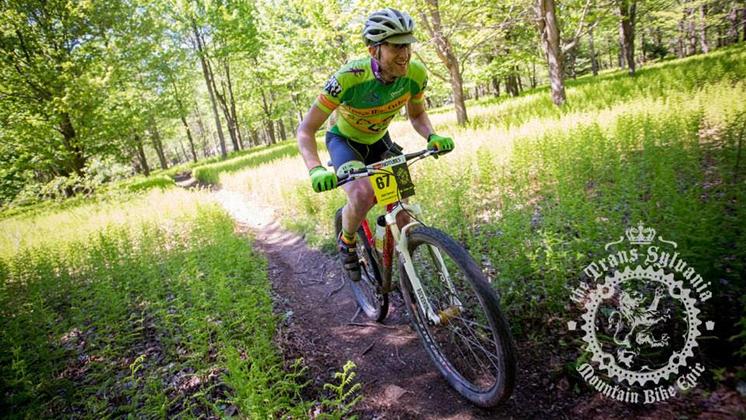 Dr Matt Ferrari on Bike