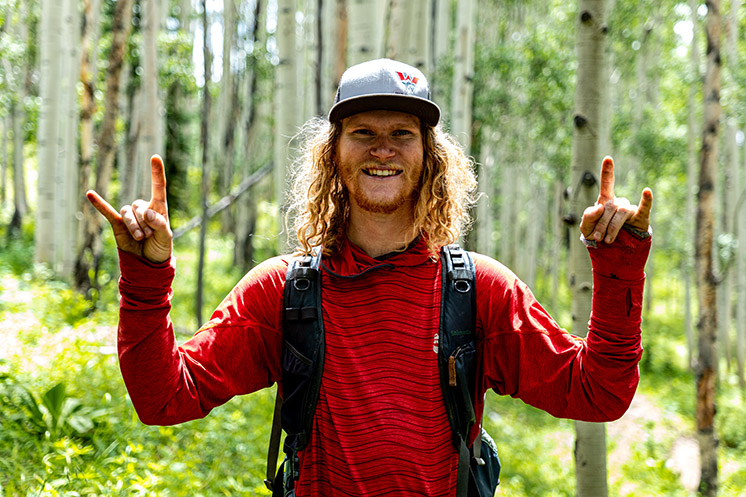 Pumped trail builder who makes the Gunnison Valley trails possible