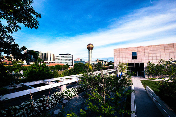 Sunsphere building in Knoxville, Tennessee