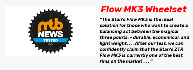 MTB News Logo and Flow MK3 Review