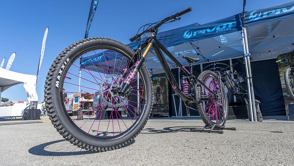 Pivot's Grim Donut Wacky Geometry Bike