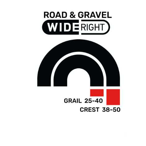 Road & Gravel Wide Right custom wheel