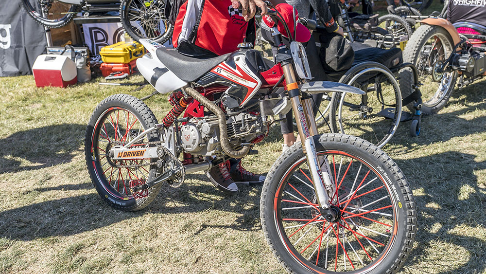 Some Kind of Bicycle Motorcycle Hybrid at Sea Otter Classic 2021