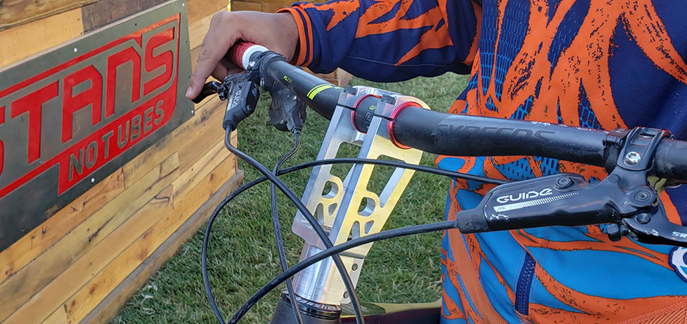 Bronson from BeMoreBikes with His Radical Stem Concept