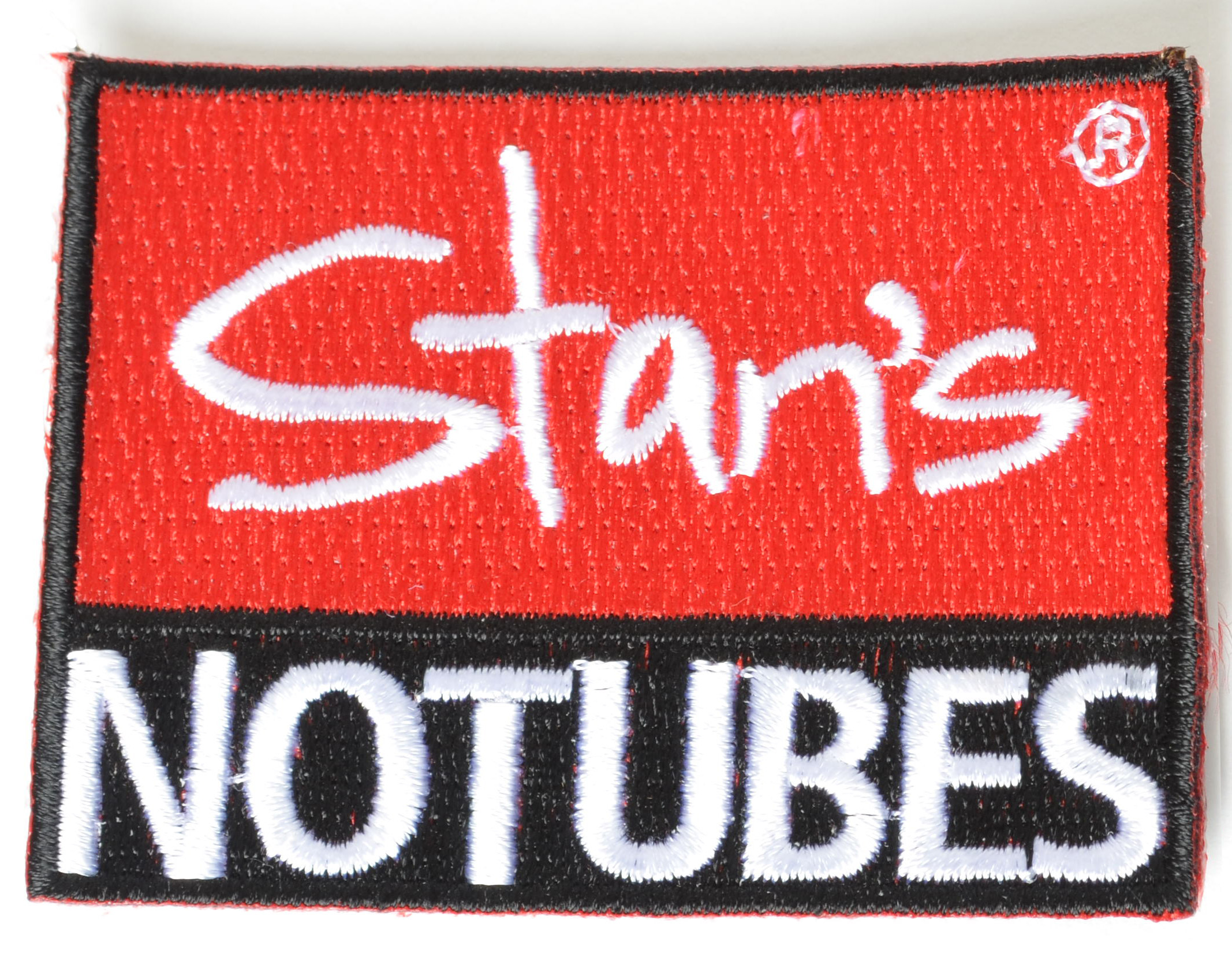 NOTUBES LOGO PATCH, Red, 2