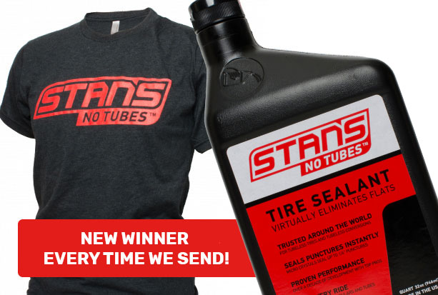 Join our mailing list for a chance to win a T-Shirt and quart of Sealant